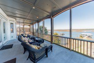 Folly Beach, South Carolina beach front vacation rental