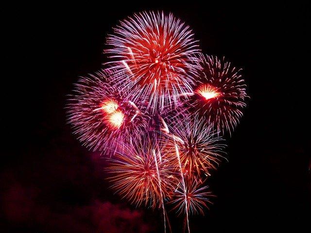 Watch Fireworks on Folly Beach